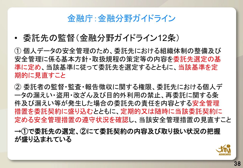 金融庁ガイドライン